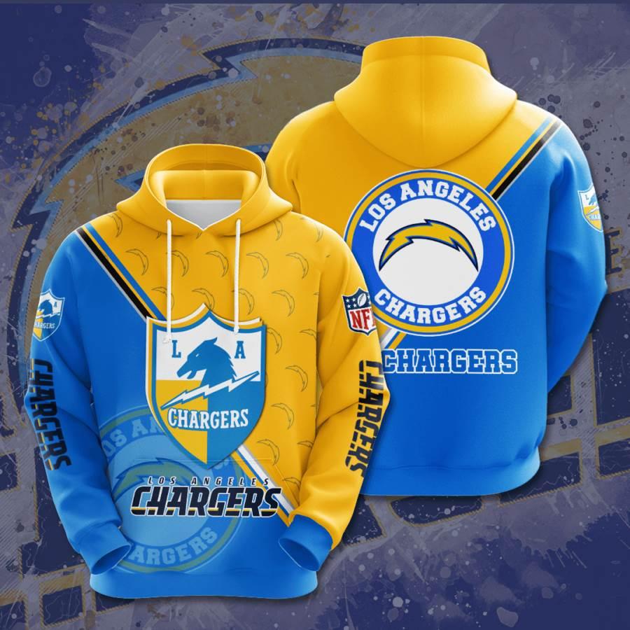 Los Angeles Chargers No1023 Custom Hoodie 3D