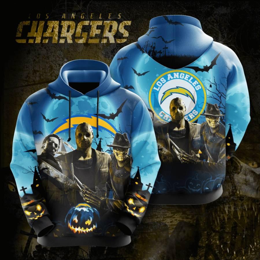 Los Angeles Chargers No1026 Custom Hoodie 3D