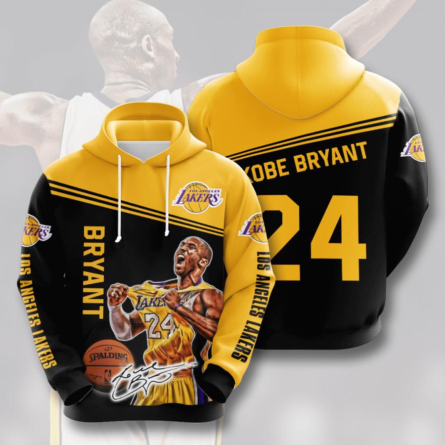 Los Angeles Lakers No1054 Custom Hoodie 3D