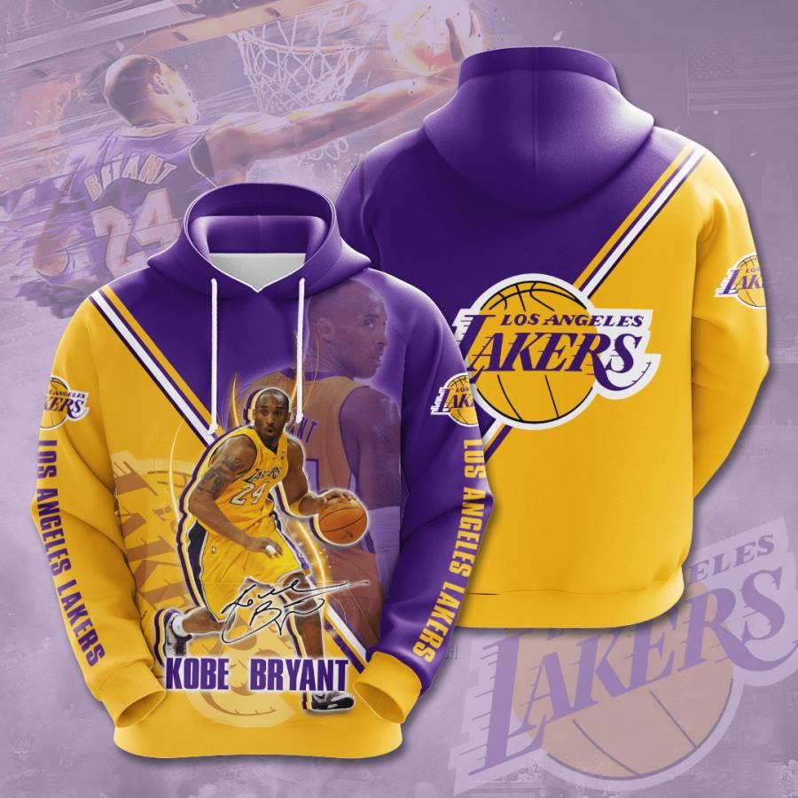 Los Angeles Lakers No1060 Custom Hoodie 3D