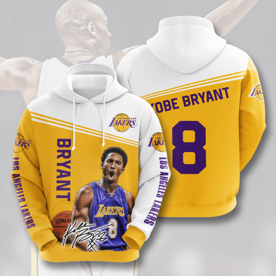 Los Angeles Lakers No1062 Custom Hoodie 3D