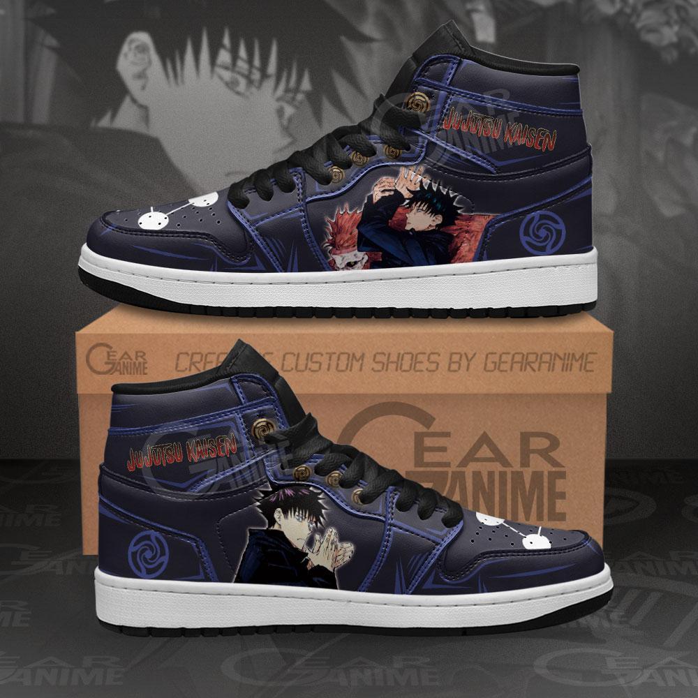 Megumi Fushiguro Jujutsu Kaisen Sneakers Anime Air Jordan Shoes
