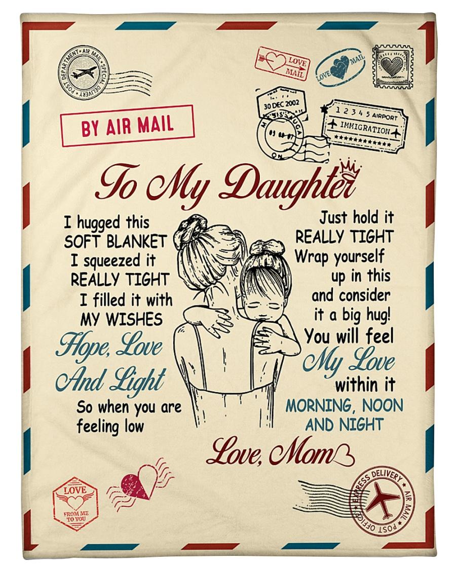 Message To My Daughter Fleece Blanket