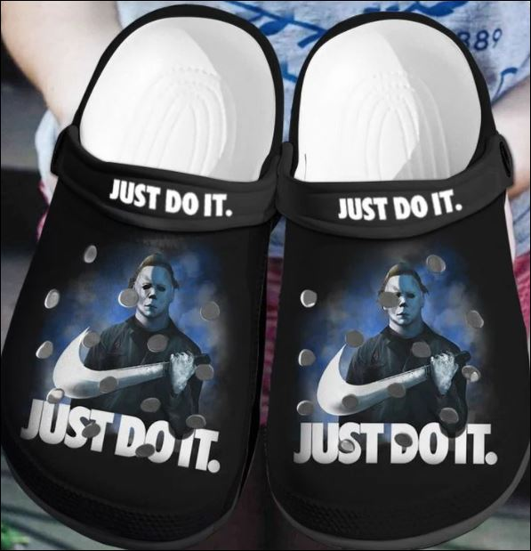 Michael Myers Just Do It Crocs Clog Shoes