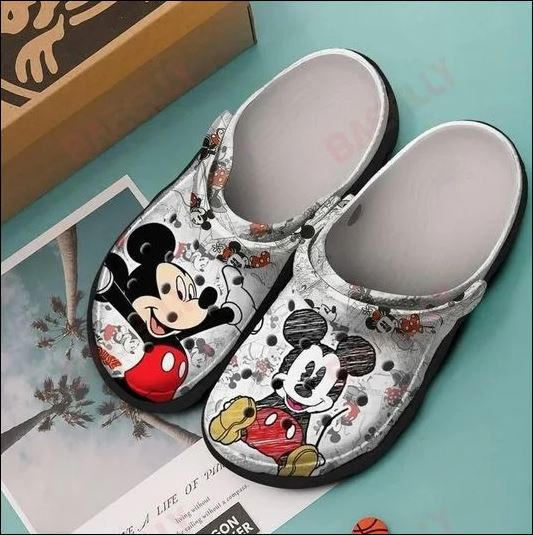 Mickey Mouse Crocs Clog Shoes