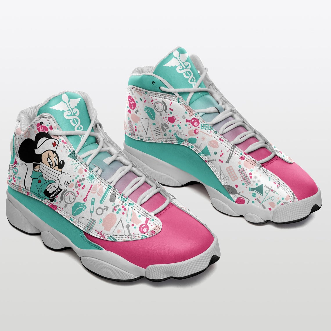 Mickey Mouse Nurse Sku 31 Air Jordan Shoes