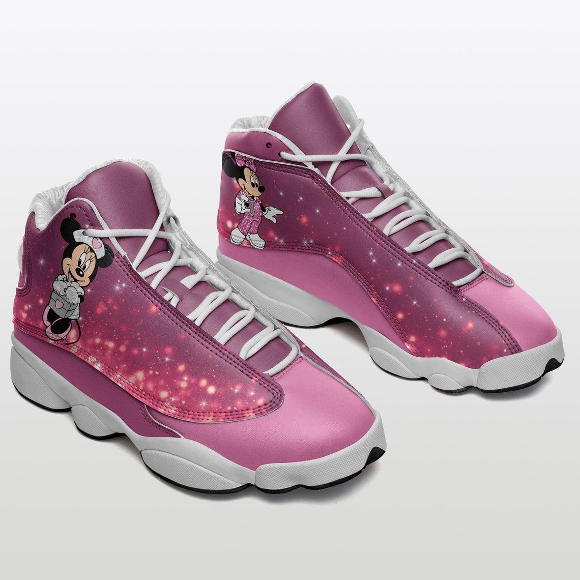 Mickey Mouse Pink Nurse Sku 31 Air Jordan Shoes
