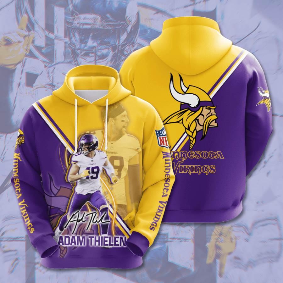 Minnesota Vikings No1227 Custom Hoodie 3D