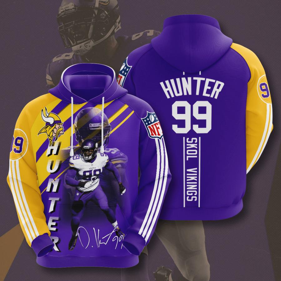 Minnesota Vikings No1230 Custom Hoodie 3D