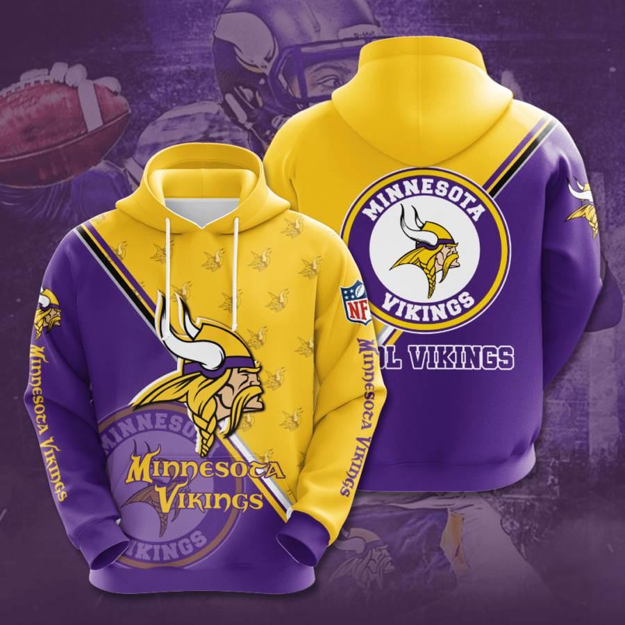 Minnesota Vikings No1237 Custom Hoodie 3D