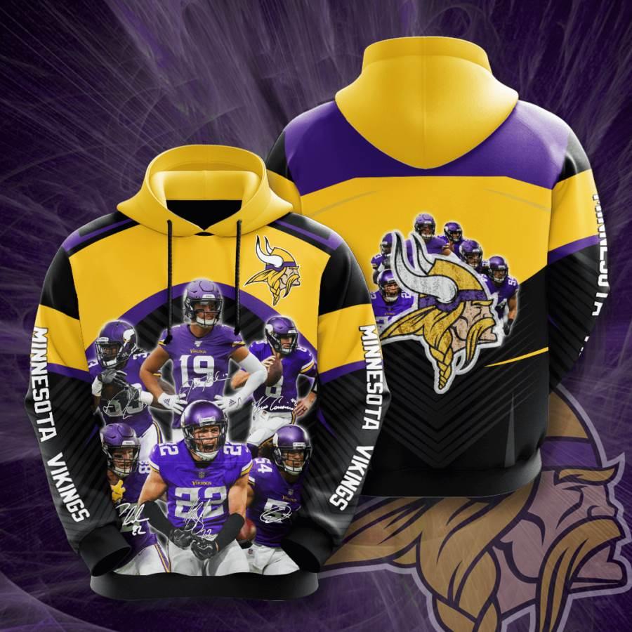 Minnesota Vikings No1238 Custom Hoodie 3D