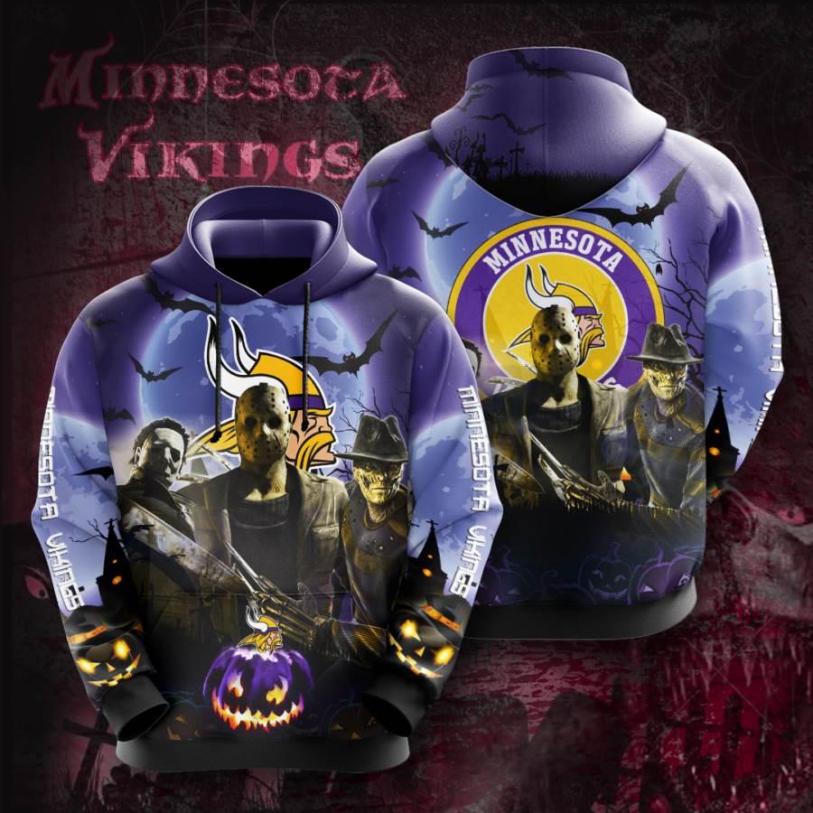 Minnesota Vikings No1240 Custom Hoodie 3D