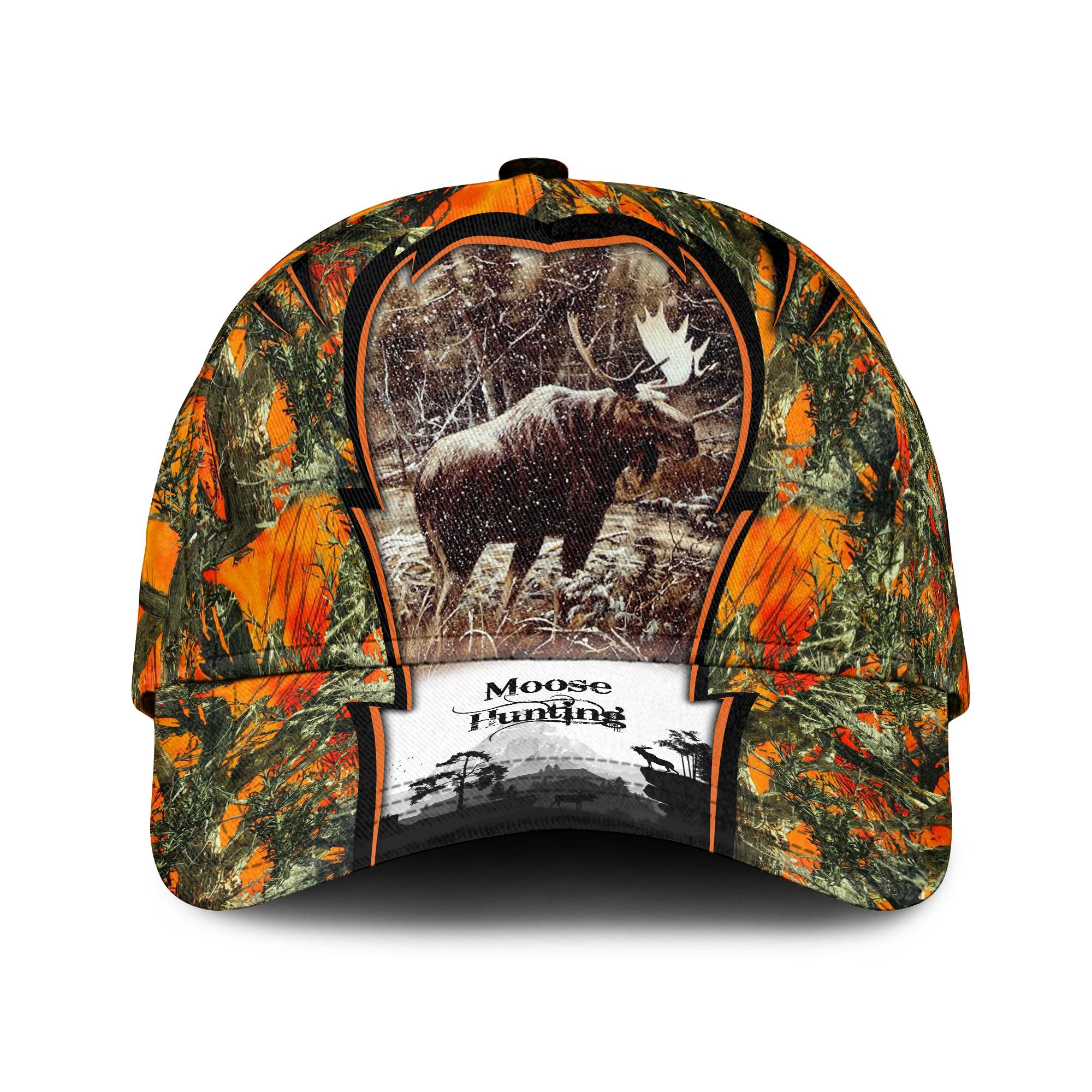 Moose Hunting Sku 173 Classic Cap