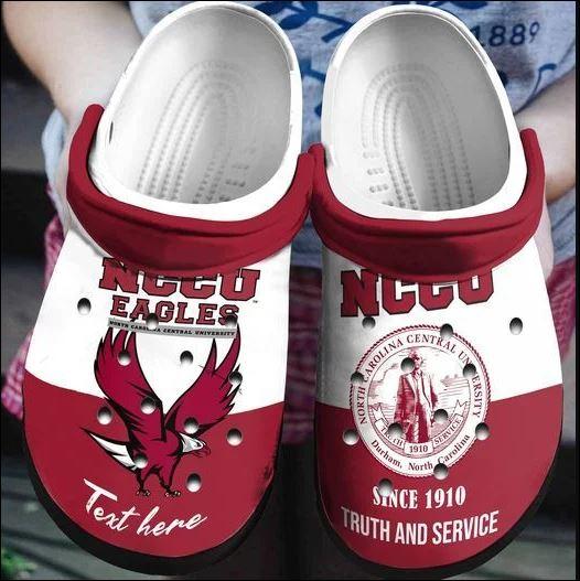 Nccu Eagles University Crocs Clog Shoes