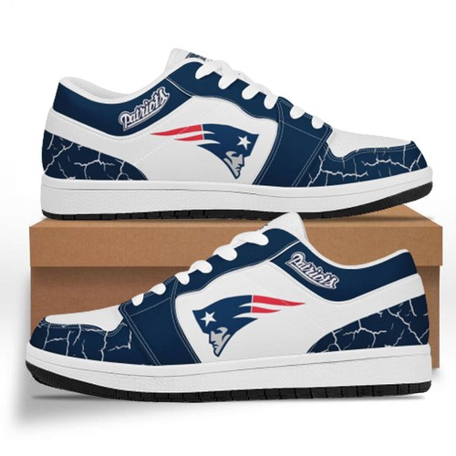 New England Patriots Casual Shoe Low Top Sneakers
