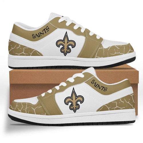 New Orleans Saints Casual Shoes Low Top Sneakers