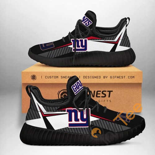 New York Giants Customize Yeezy Boost