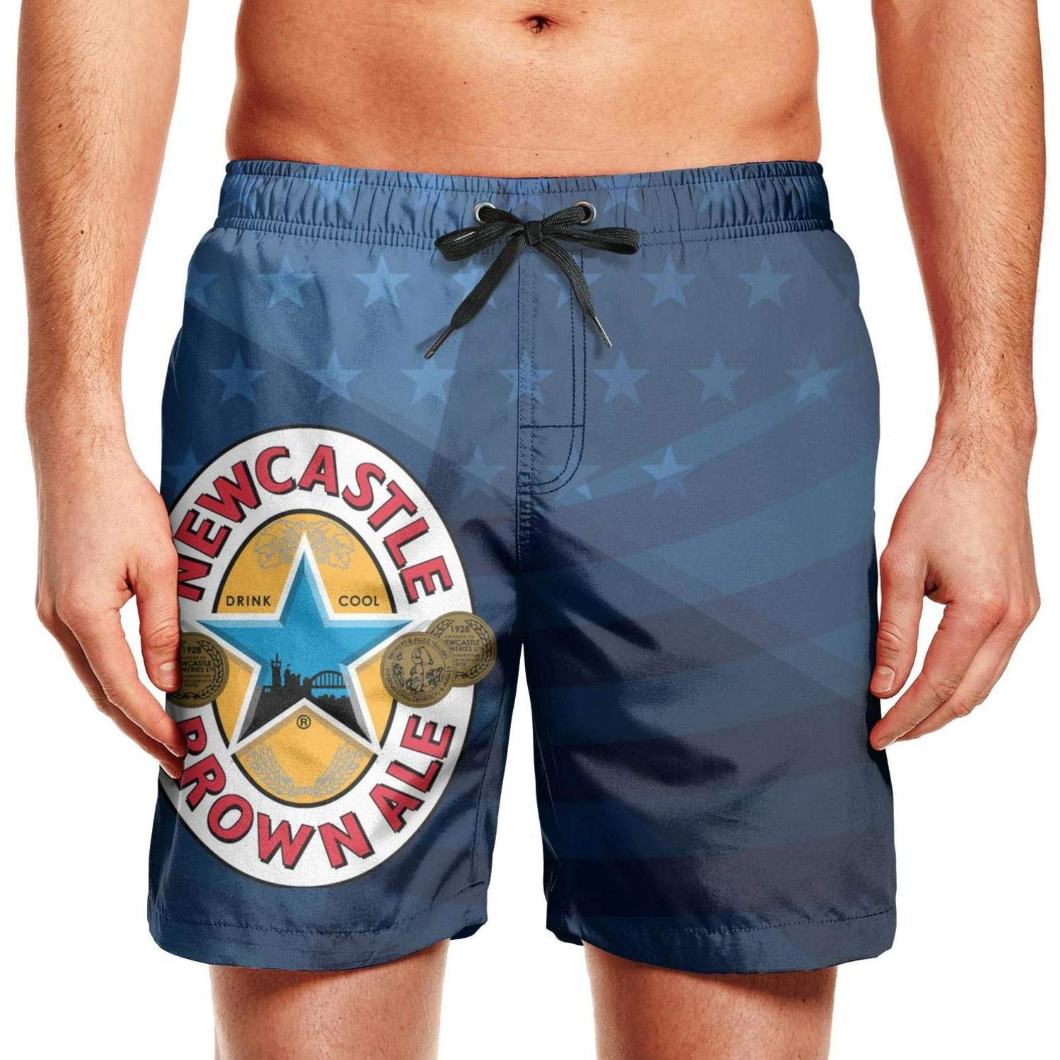 Newcastle Brown Ale Patriotic American Usa Flag July 4th Shorts