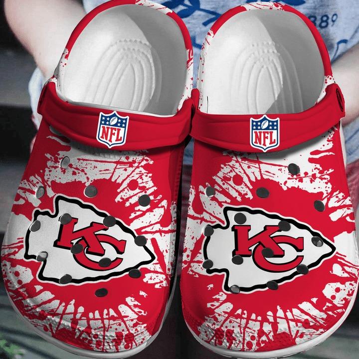 Nfl Kansas Chief City No42 Crocs Clog Shoes