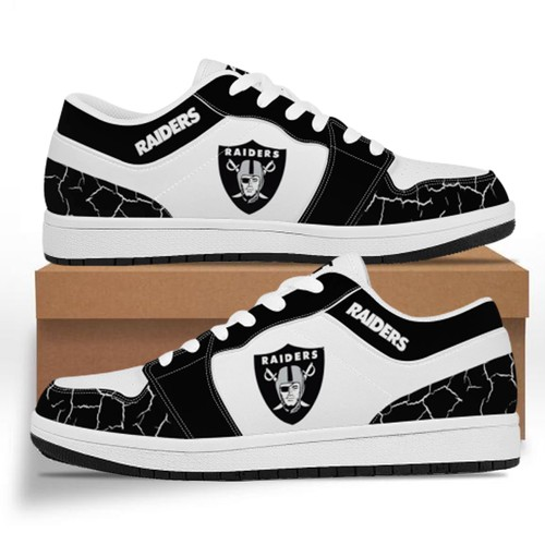 Oakland Raiders Casual Shoes Low Top Sneakers