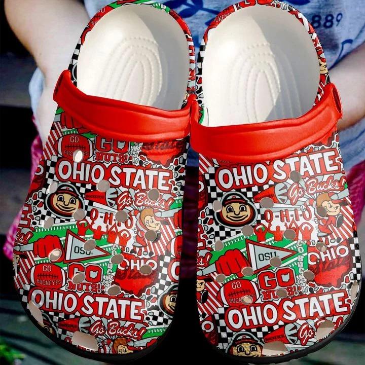 Ohio State No43 Crocs Clog Shoes