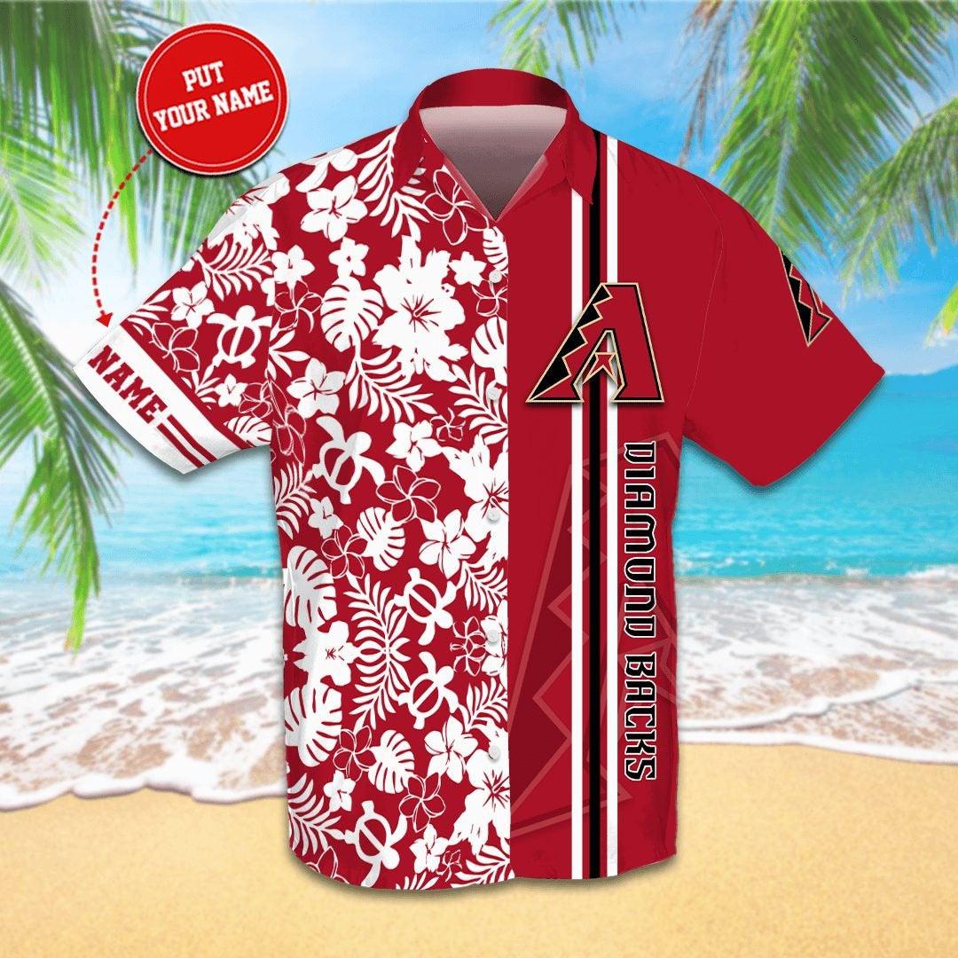 Personalized Arizona Diamondbacks Hawaiian shirts