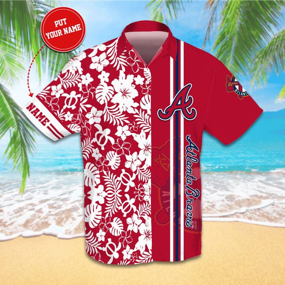 Personalized Atlanta Braves Hawaiian shirts