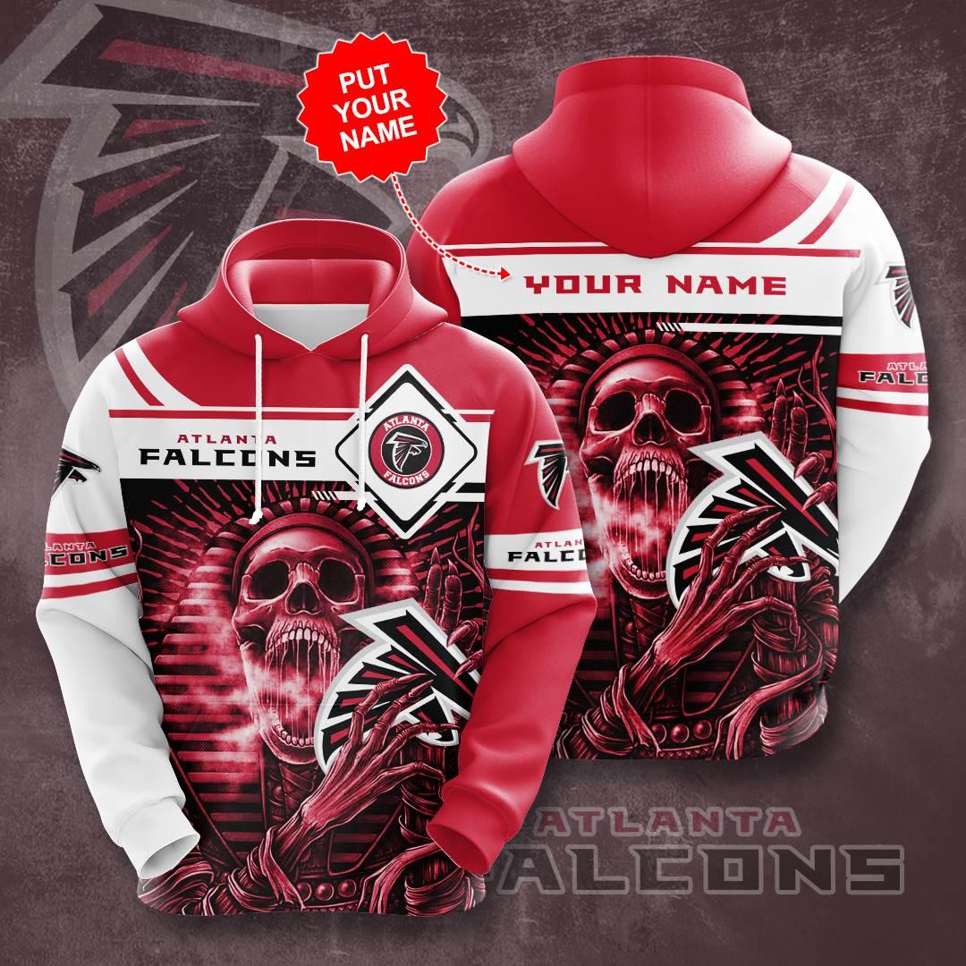 Personalized Atlanta Falcons No132 Custom Hoodie 3D