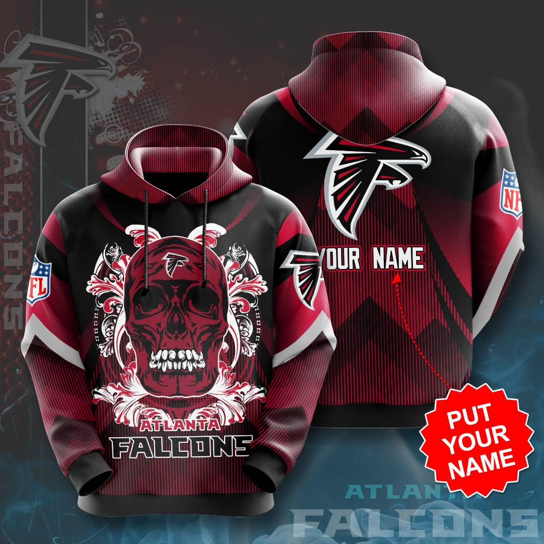 Personalized Atlanta Falcons No133 Custom Hoodie 3D