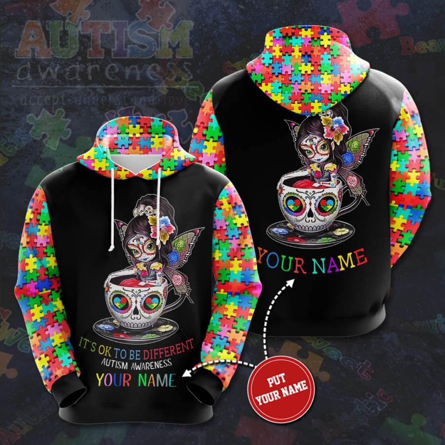 Personalized Autism Awareness No134 Custom Hoodie 3D