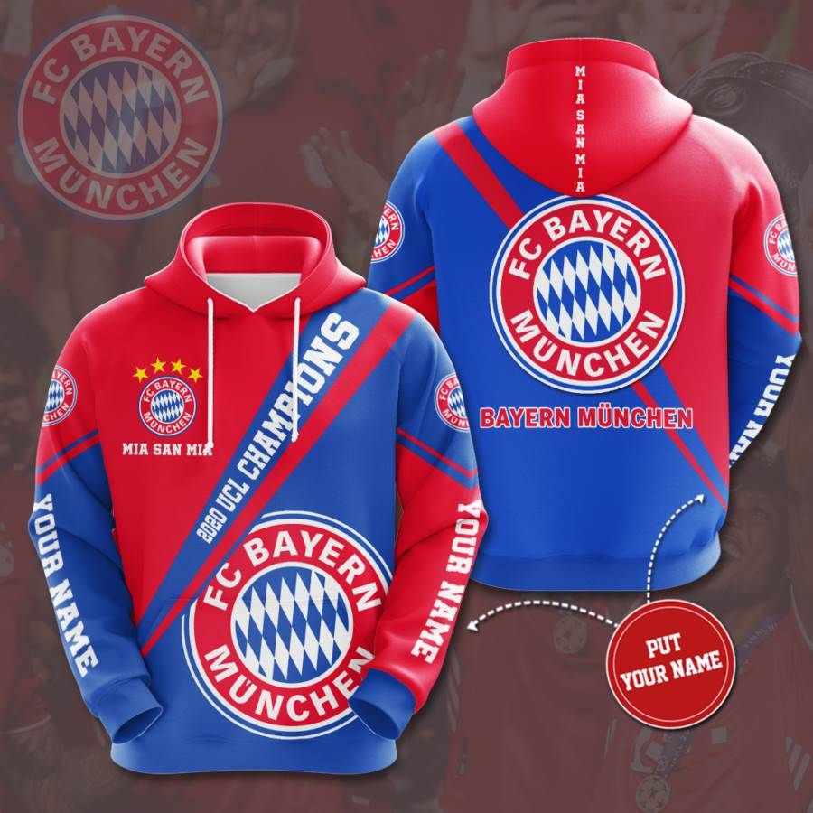 Personalized Bayern Mu?nchen No184 Custom Hoodie 3D
