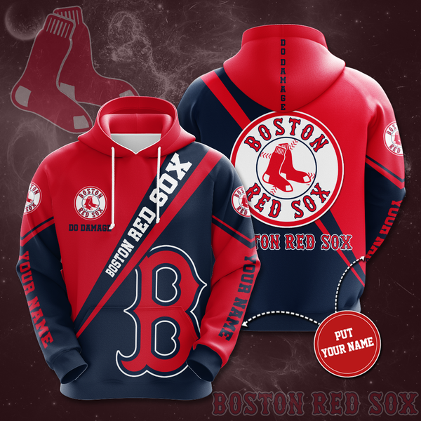 Personalized Boston Red Sox No236 Custom Hoodie 3D