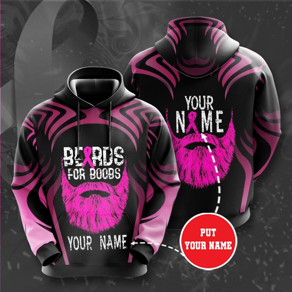 Personalized Breast Cancer Awareness No242 Custom Hoodie 3D