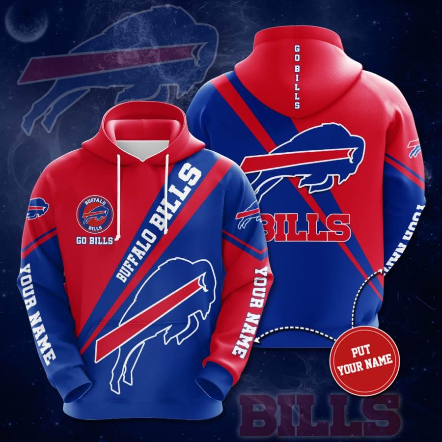 Personalized Buffalo Bills No273 Custom Hoodie 3D