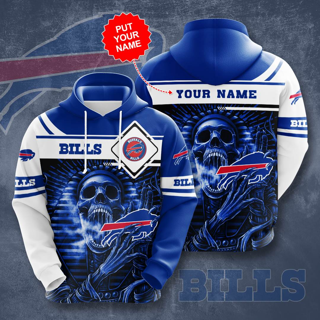 Personalized Buffalo Bills No274 Custom Hoodie 3D
