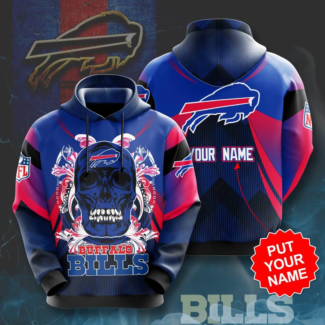 Personalized Buffalo Bills No275 Custom Hoodie 3D