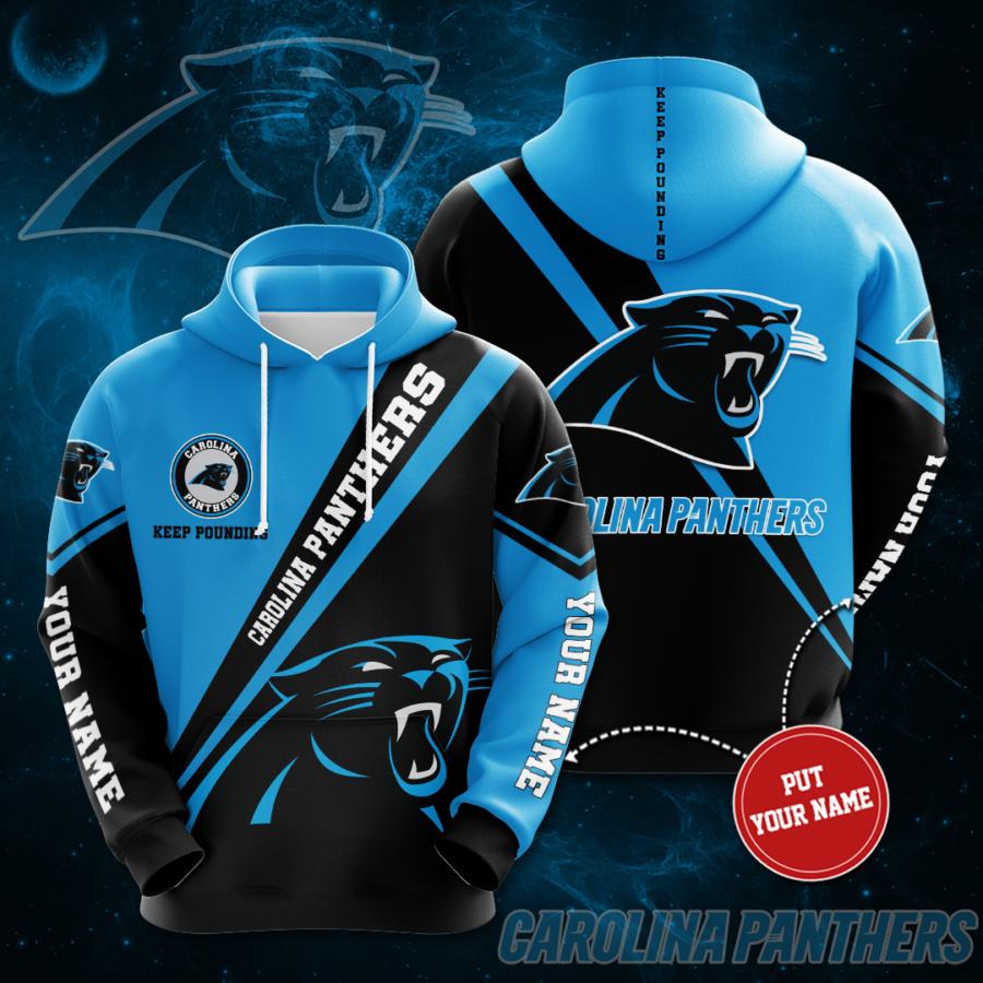 Personalized Carolina Panthers No312 Custom Hoodie 3D