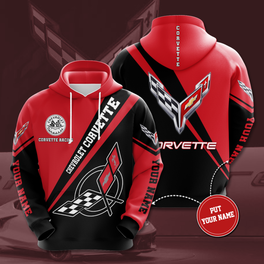 Personalized Chevrolet Corvette No321 Custom Hoodie 3D