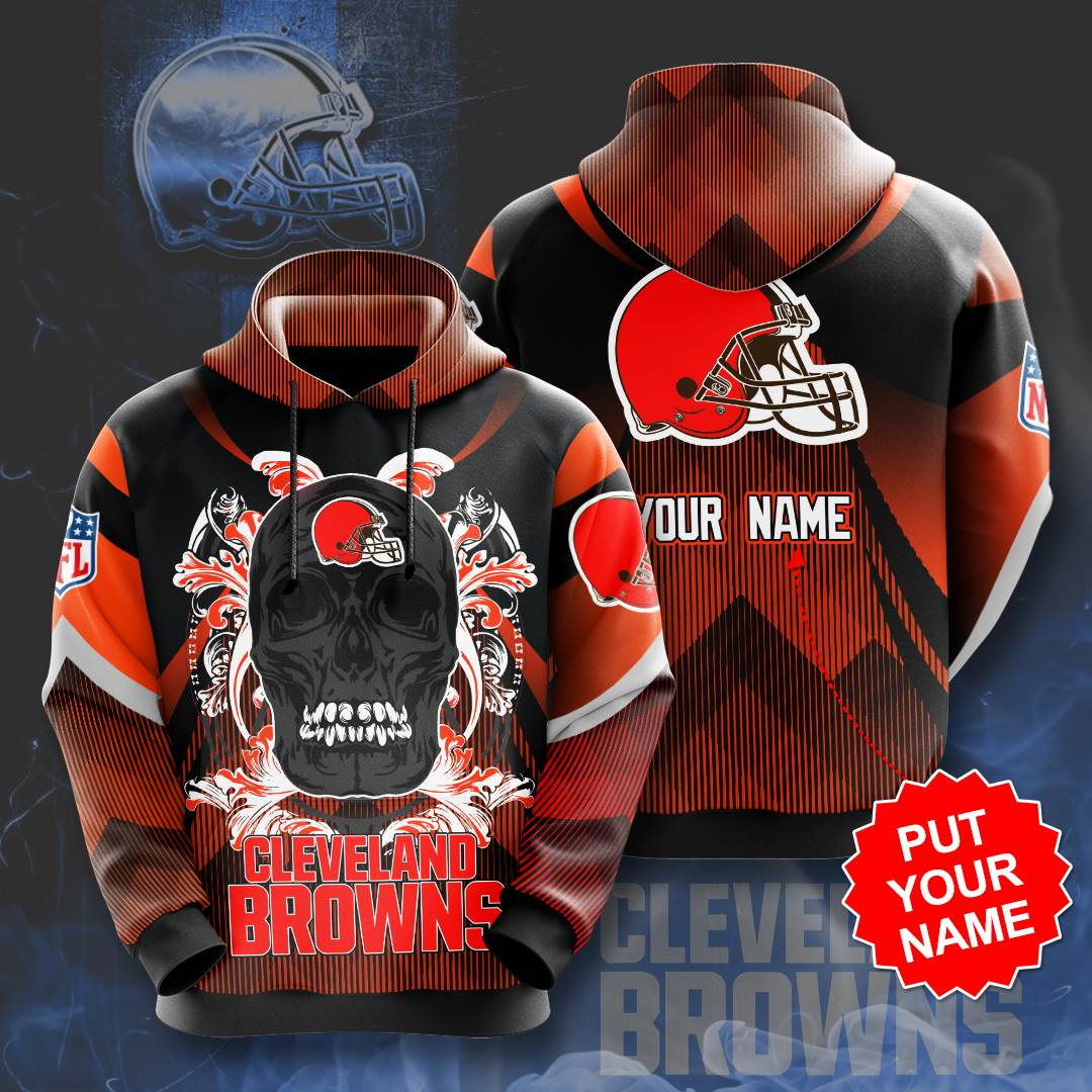 Personalized Cleveland Browns No459 Custom Hoodie 3D