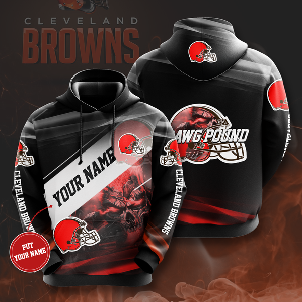Personalized Cleveland Browns No461 Custom Hoodie 3D