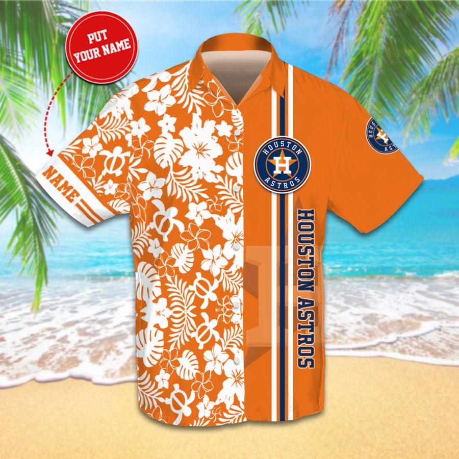 Personalized Houston Astros Hawaiian shirts