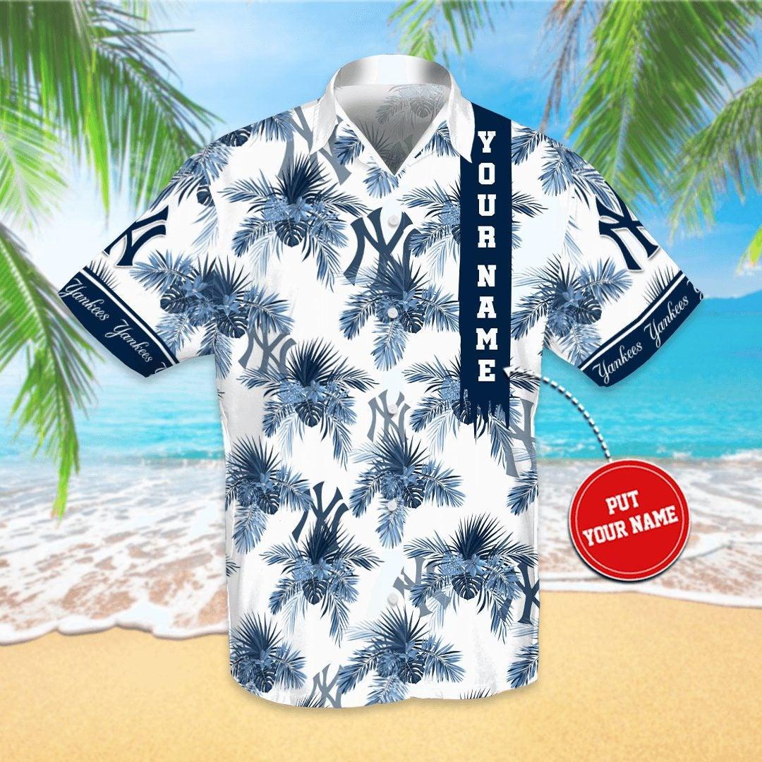 Personalized New York Yankees Hawaiian shirts