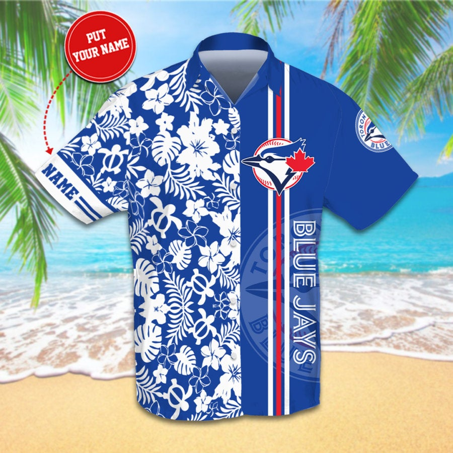 Personalized Toronto Blue Jays Hawaiian shirts