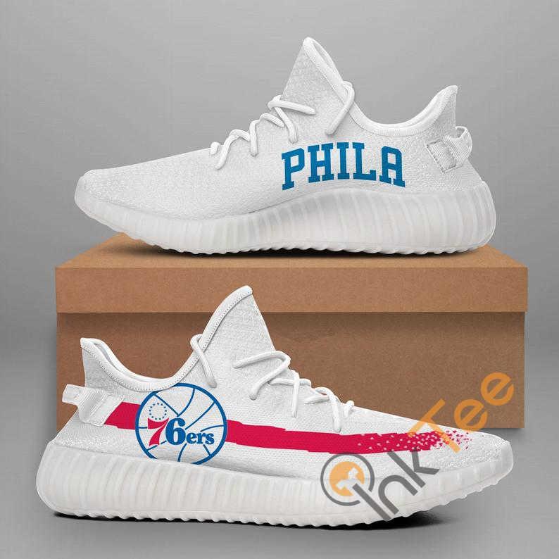 Philadelphia 76ers No 370 Yeezy Boost