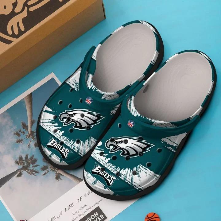 Philadelphia Eagles No39 Crocs Clog Shoes