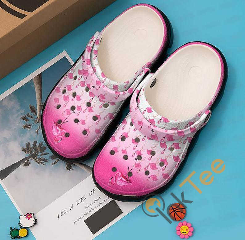 Pink Flamingo Crocs Clog Shoes