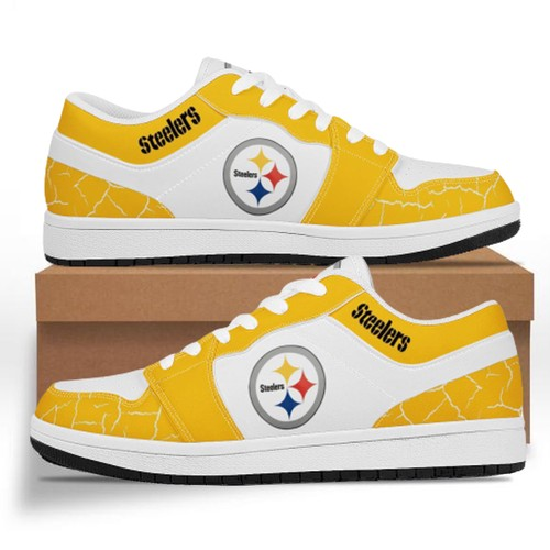 Pittsburgh Steelers Casual Shoes Low Top Sneakers
