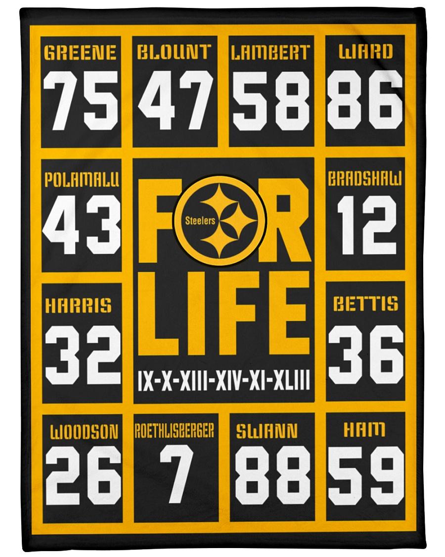 Pittsburgh Steelers For Life Fleece Blanket