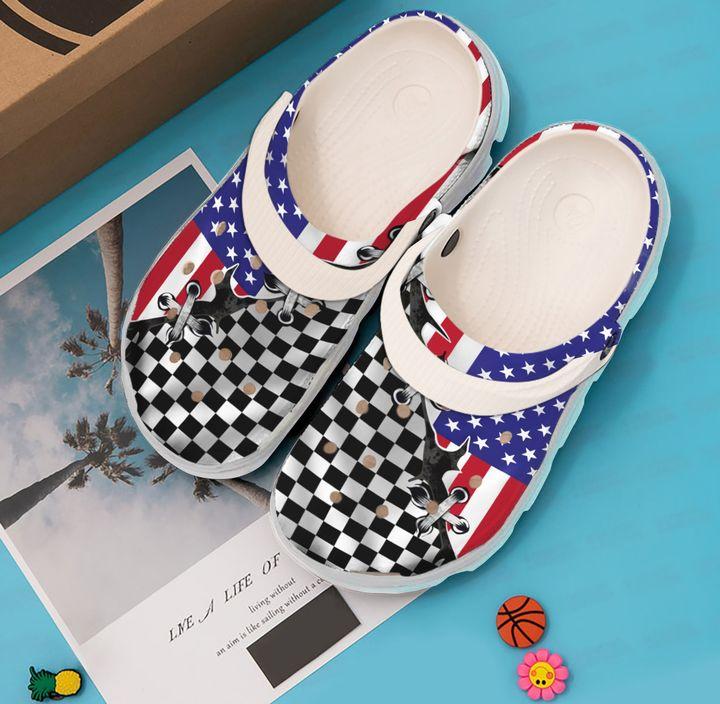 Racing Flag Sku 1993 Crocs Clog Shoes