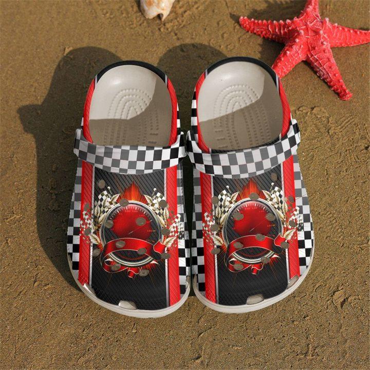 Racing Speedometer Sku 1994 Crocs Clog Shoes